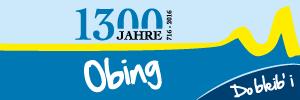 1300 Jahre Obing - Banner