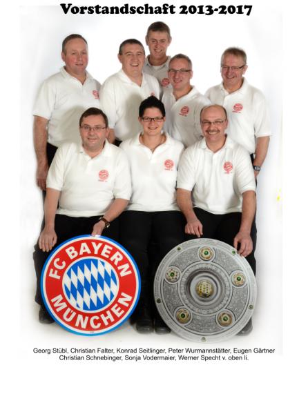 Vorstandschaft 2013 / 2017